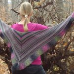 reversible shawl pattern