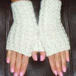 knit fingerless mitts pattern